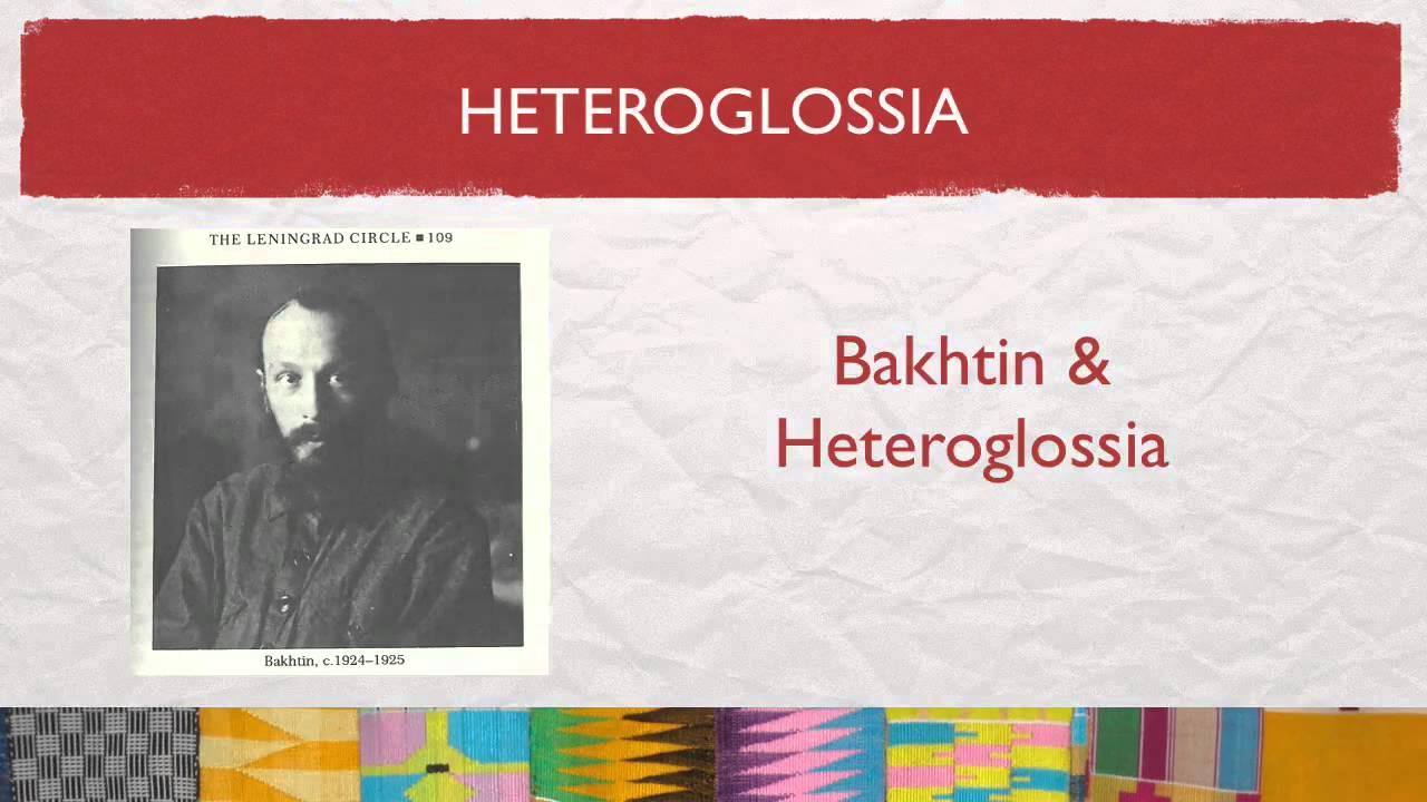 bakhtin heteroglossia