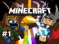 Minecraft: Asgard Adventures w/Nova & Kootra Ep.1 - A COLORFUL NEW WORLD