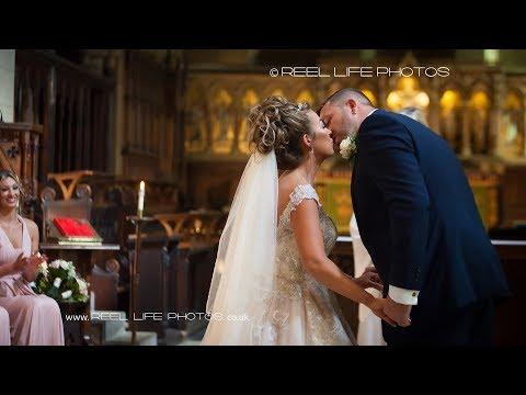 Wedding At St Mary's, Mirfield Parish Church