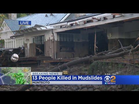 Mudslides Kill 13 People In Montecito