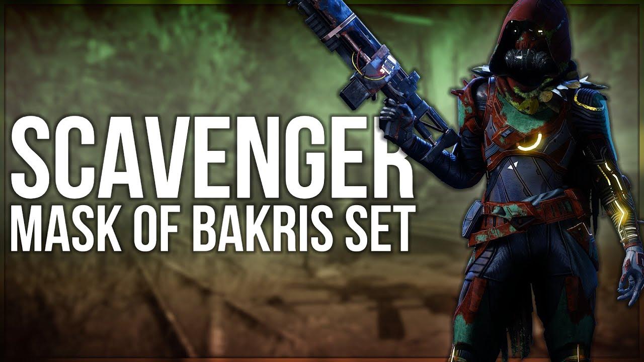 Scavenger Mask of Bakris Set - Destiny 2 Fashion Builds