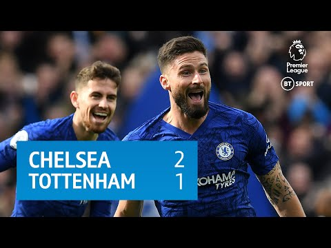 Chelsea V Tottenham (2-1) | Premier League Highlights