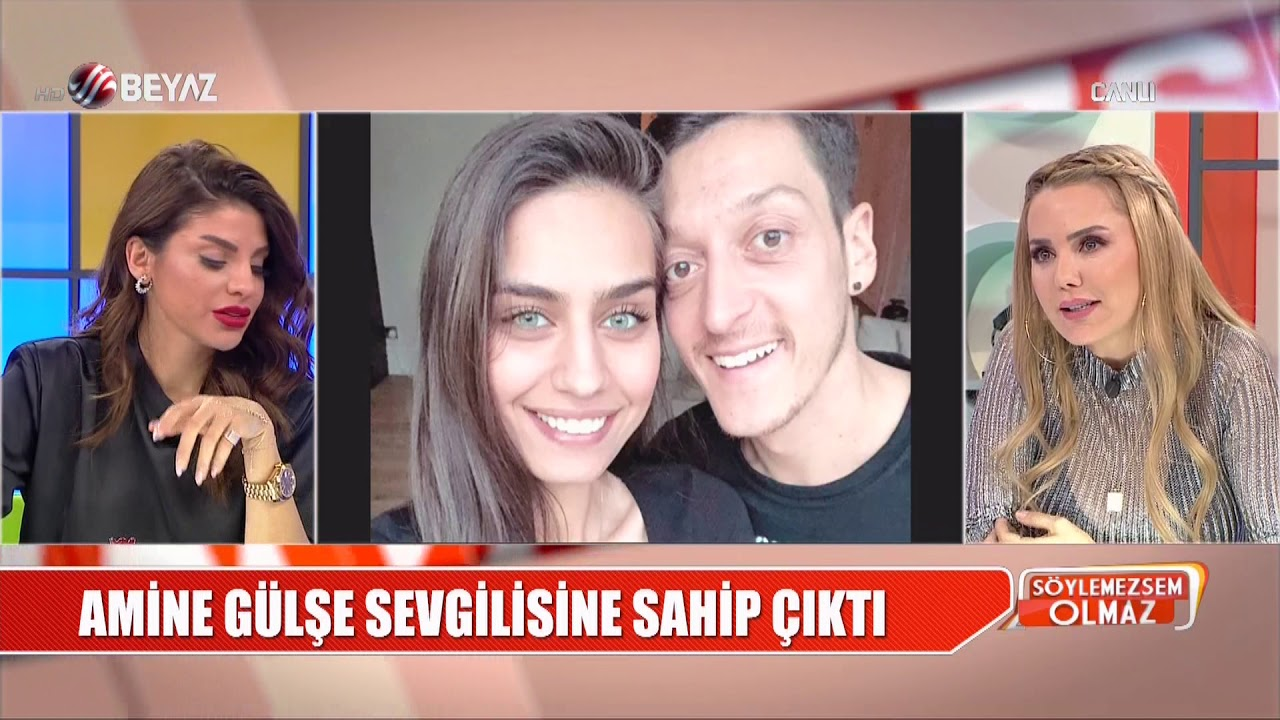 Kadınların da olduğu partide görüntüleri çıktı! Amine Gülşe'den ''Mesut Özil'&#0