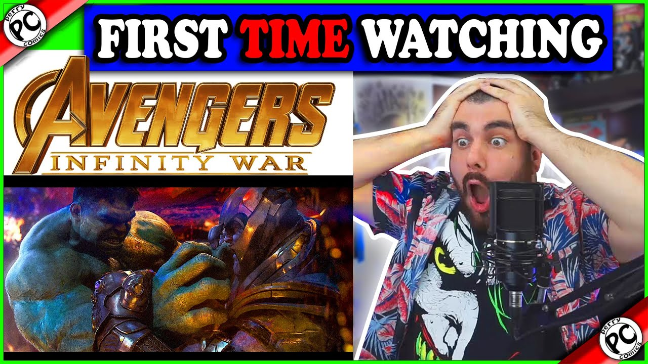 WATCHING AVENGERS INFINITY WAR FOR THE FIRST TIME | MOVIE REACTION PART 1