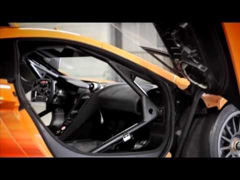 McLaren MP4 12C GT3 breaks cover in first tests