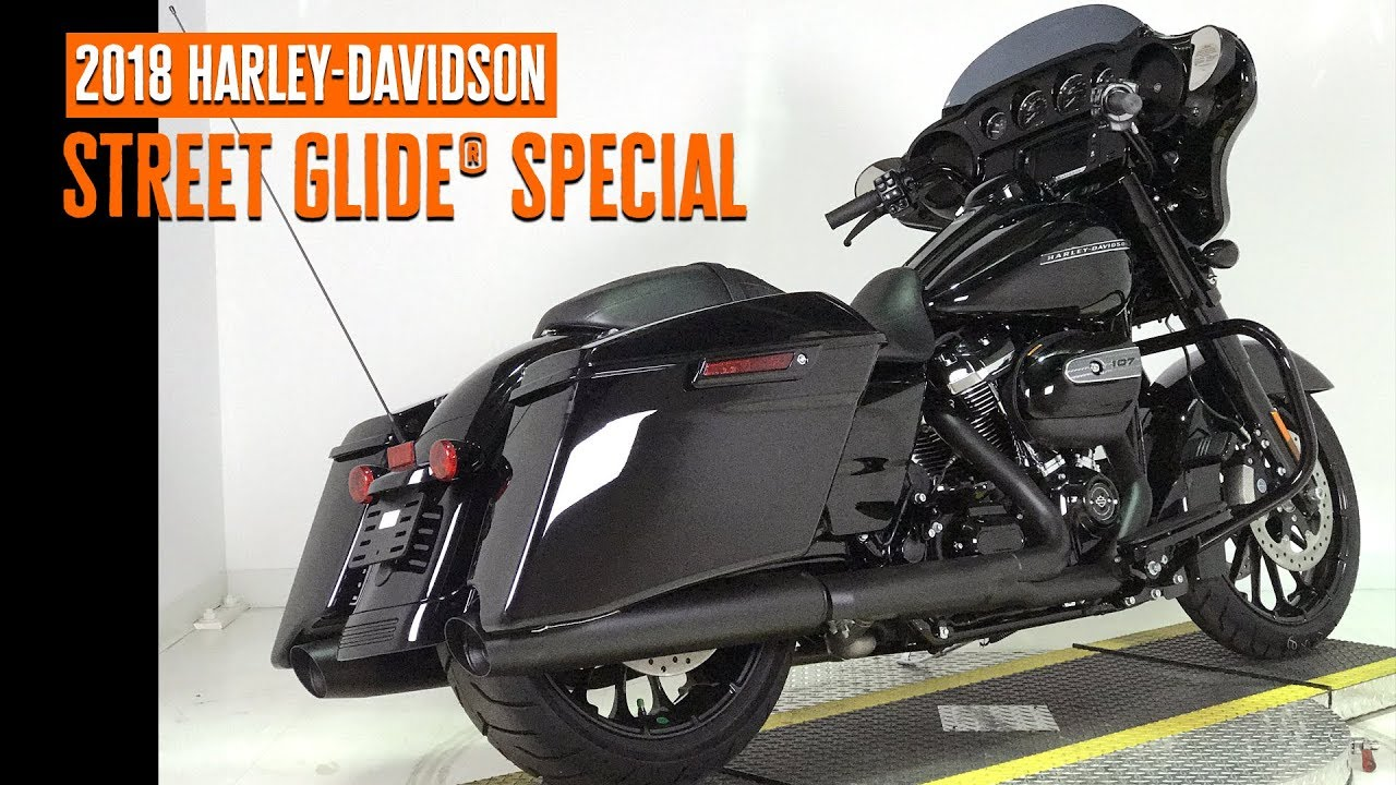 2018 Harley Davidson Touring Street Glide Special Flhxs Youtube