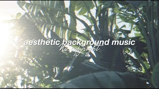 (No Copyright) Aesthetic Background Music for Videos