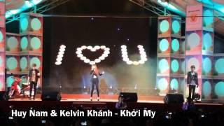 Minh Tuấn A#, Khởi My, Huy Nam & Kelvin Khánh