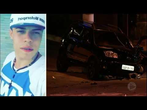 Motorista embriagado atropela e mata jovem motociclista