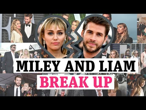 It's over! Miley Cyrus and Liam Hemsworth split