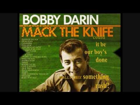 BOBBY DARIN ~ MACK THE KNIFE (With Lyrics)