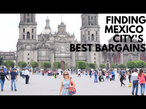 BARGAIN SHOPPING IN MEXICO CITY