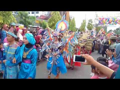 karnaval budaya meriahkan hut kota lubuklinggau ke 16 tahun 2017
