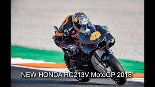 New Honda MotoGP RC213V 2018 test drive