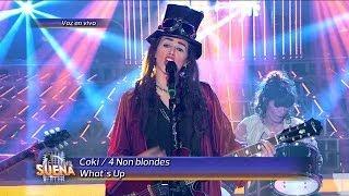 Coki Ramírez Es Linda Perry De 4 Non Blondes En Tu Cara Me Suena [HD]
