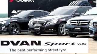 видео Yokohama Advan Sport V105