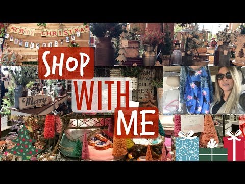 CHRISTMAS Holiday Shop With Me Vlog! Gift Ideas, Home Decor, Favorite Shopping Stores!