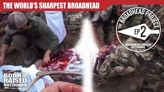 THE WORLDS SHARPEST BROADHEAD