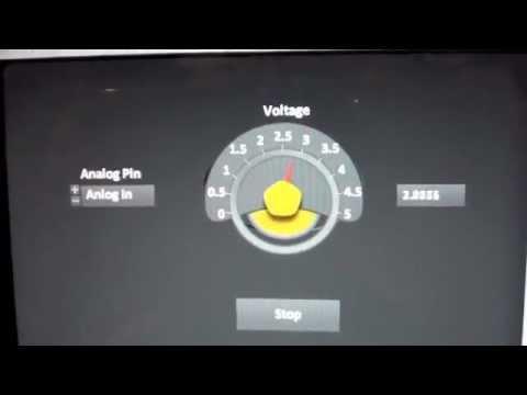 MAC+Arduino+Labview Voltimetro (Error 5005)