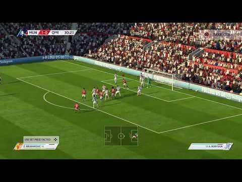 Fifa 18 Man Utd - QPR FAC (6-0) (Legendary)