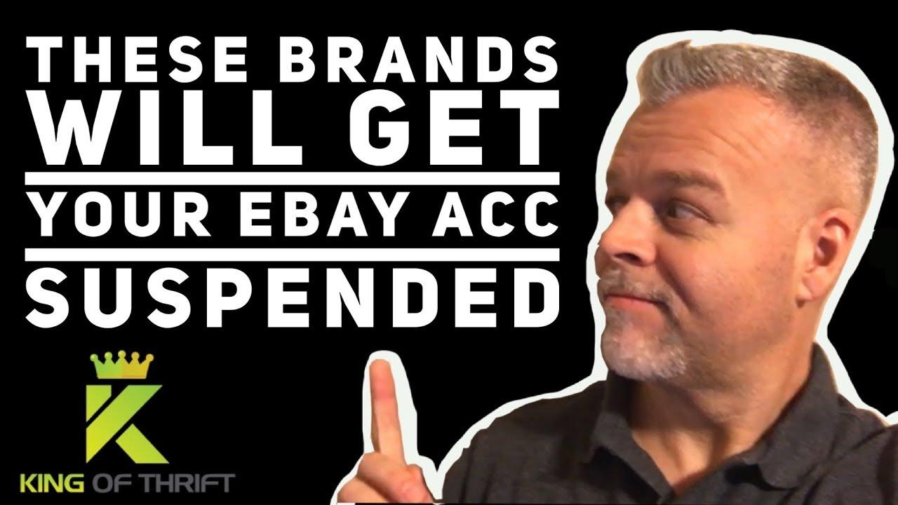 eBay Account Suspended~AVOID EBAY SUSPENSION~VERO Trademark  Violation~Re-Selling to Make Money 2018