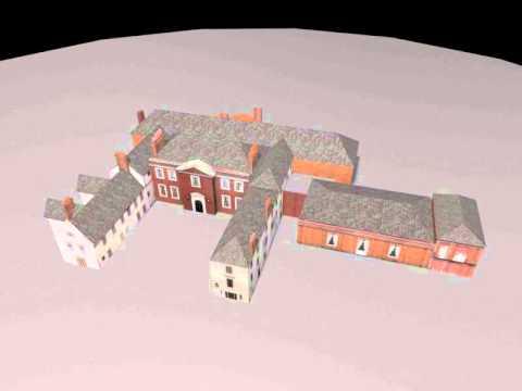 Assembly House - virtual reality model