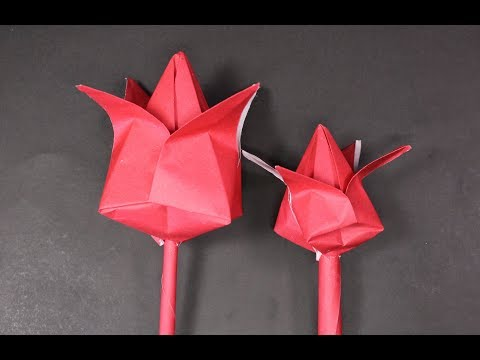 origami water lily flower!! how to make awesome water lily flower at home | crazyMCH
