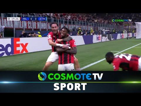 Μίλαν - Ατλέτικο Μαδρίτης 1 - 2 | Highlights - UEFA Champions League 2021/22 - 28/9/2021 |COSMOTE TV