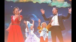 Павел Прилучный /Ирина Муромцева и их дети 'Буратино' Главная роль