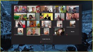 Encuentro virtual del presidente con la APV
