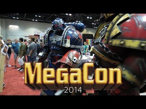 Crimson Fists Space Marine @ MegaCon 2014