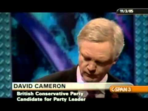 2005 Conservative Candidates debate, David Cameron and David Davis