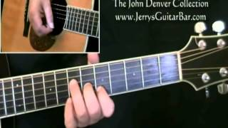 How To Play John Denver Calypso Introduction