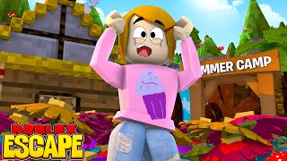 Roblox Escape Summer Camp Obby With Molly! - The Toy Heroes Games