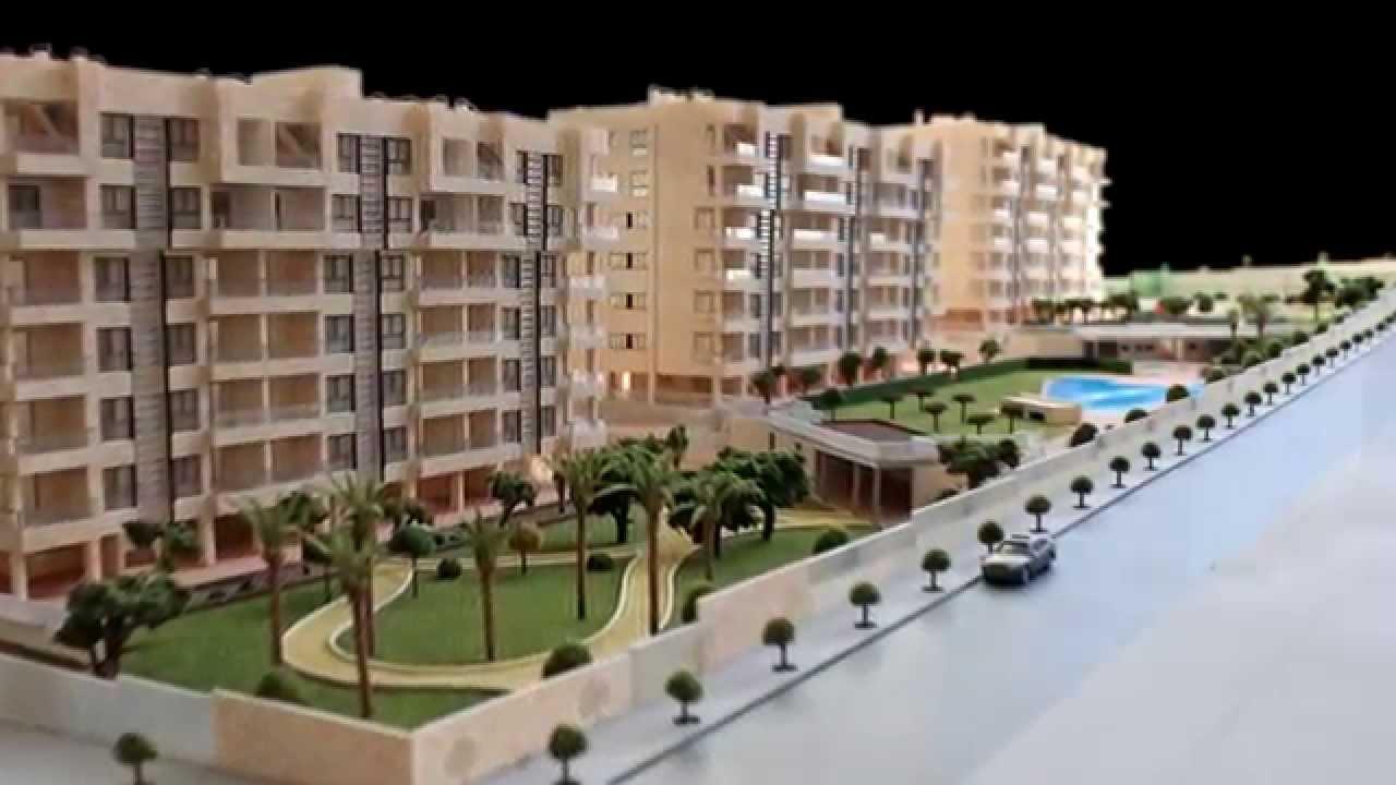 Maqueta de edificios en alicante youtube for Maquetas de apartamentos modernos