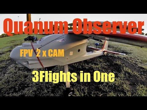 Quanum Observer FPV March 3Flight