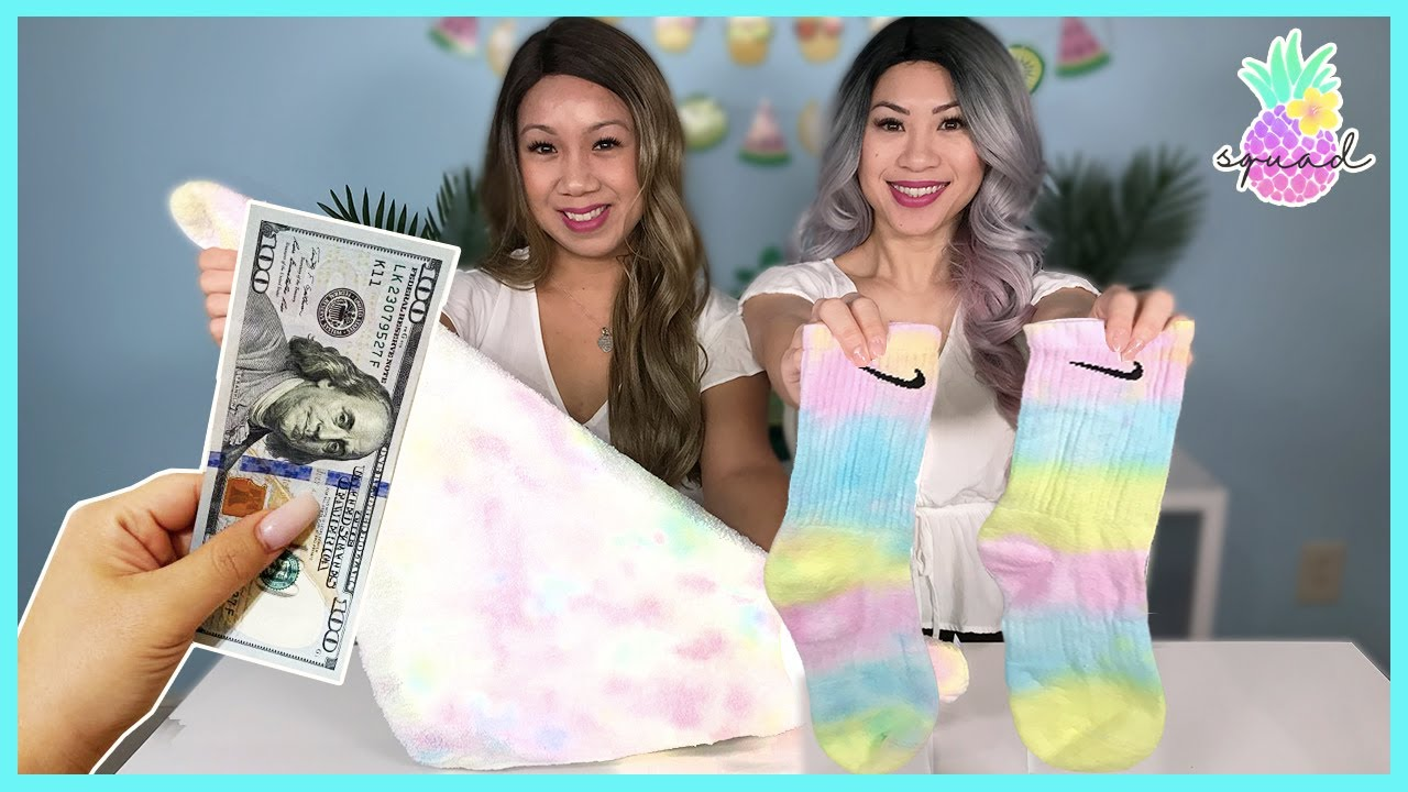 Tie Dye Challenge with My Sister! Winner wins $100