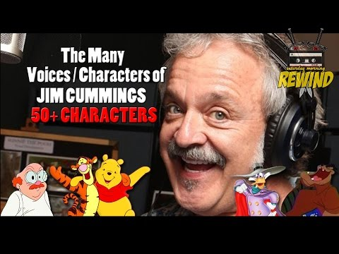 JIM CUMMINGS: The Many Voices and Characters of... (cartoon voice actor)