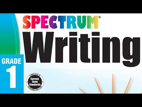 spectrum-workbooks- -homeschool-curriculum- -writing-grade-1-preview