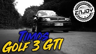 Enjoy Fahrzeugfolierung | BMW F30 Folierung & Timo's VW Golf 3 GTI im neuen Glanz
