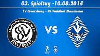 SV Elversberg vs. SV Waldhof Mannheim 07 3. Spieltag 14/15
