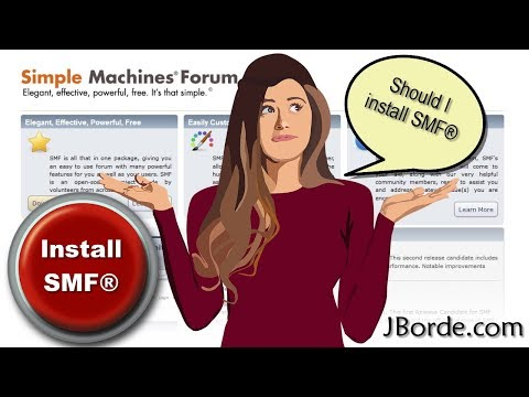 Simple Machines® Forum Software Review - SMF | By JBorde.com