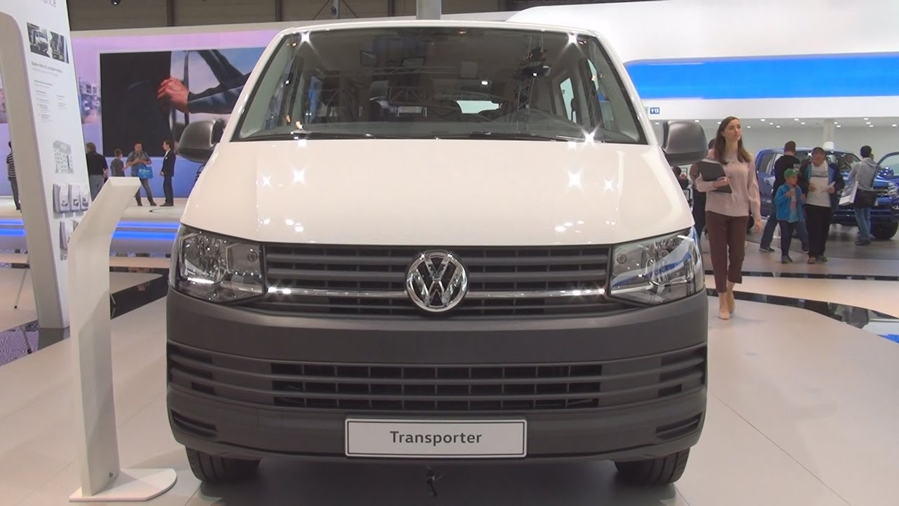 volkswagen transporter t6 double cab tdi panel van 2017 exterior and interior in 3d youtube. Black Bedroom Furniture Sets. Home Design Ideas