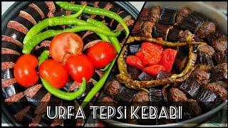 Urfa tepsi kebabı nasıl yapılır  Turkish meat cooking techniques tray kebab