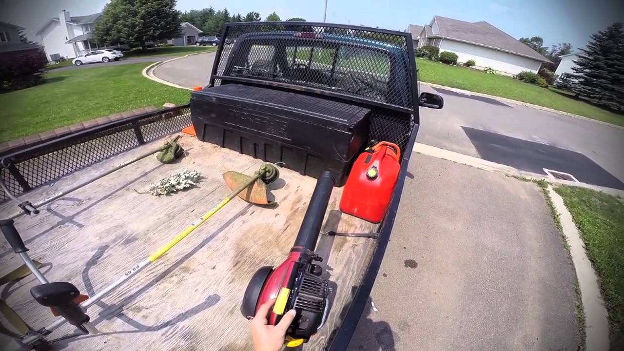 Lawn Care Setup Truck Trailer Zeroturn Trimmers Etc