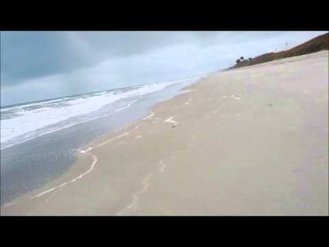 Riding my bike on the beach