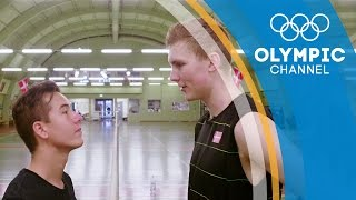 Viktor Axelsen bedazzles PWG Freestyle with his badminton matrix workout | Hitting the Wall