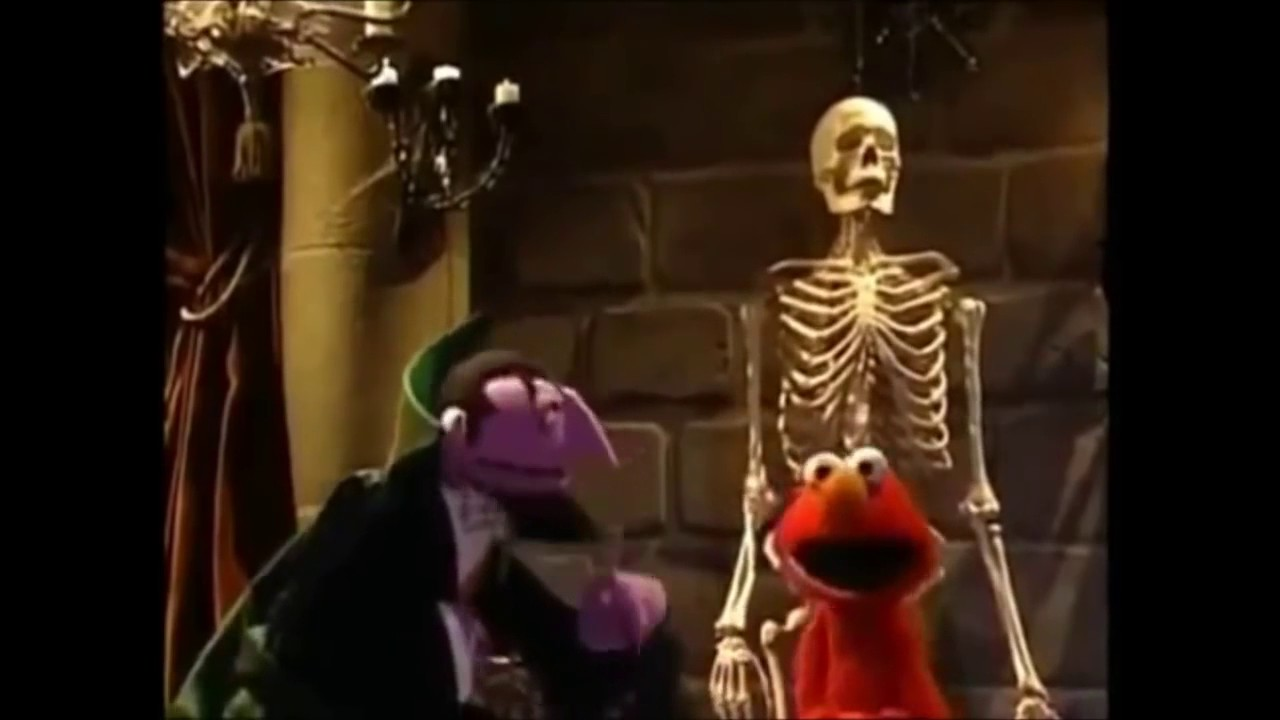 elmo says boo part 4 Forth part.