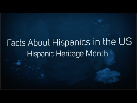 Facts About Hispanics in the United States: Hispanic Heritage Month