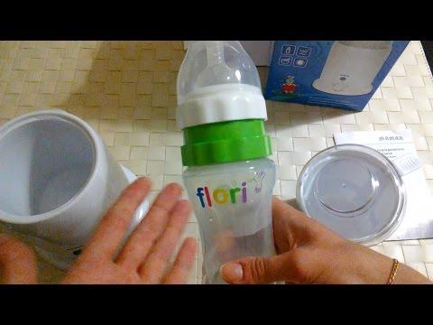 Подогреватель для бутылочек и бутылочка Flori